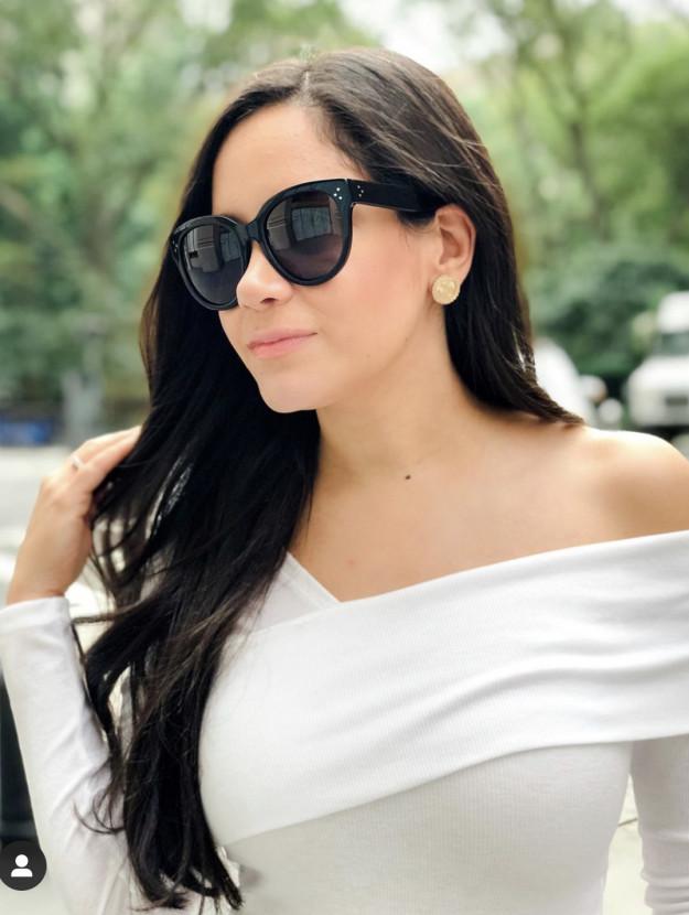 Celine Audrey Hepburn Inspired Sunglasses Coco on Fifth Blogger