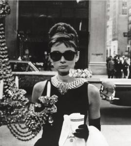 Audrey Hepburn Round Sunglasses Breakfast at Tiffany's