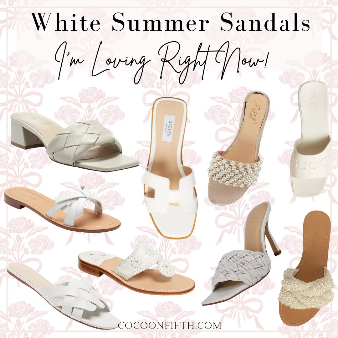 White Sandals For Women